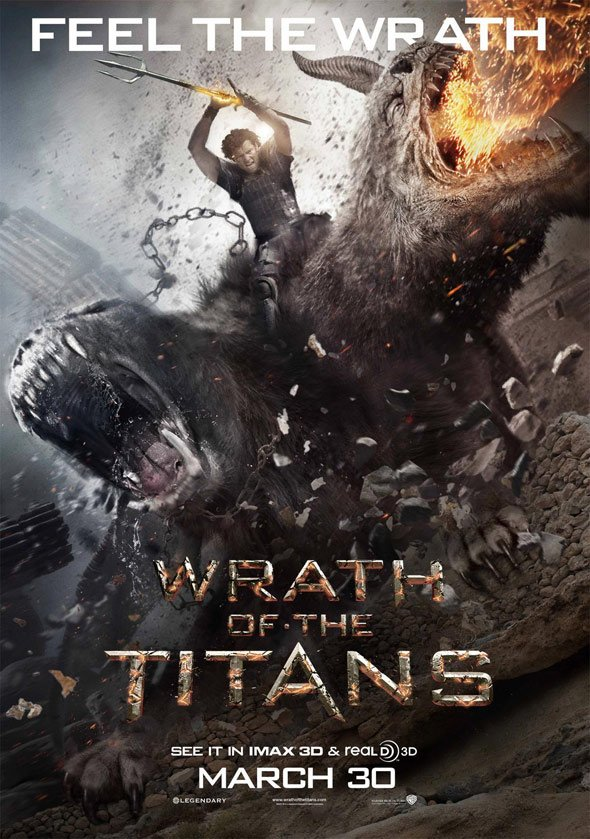 Wrath of the Titans Poster #9
