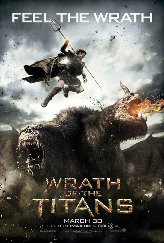 Wrath of the Titans Poster #1