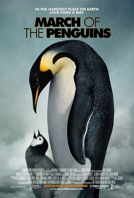 March of the Penguins Poster #1