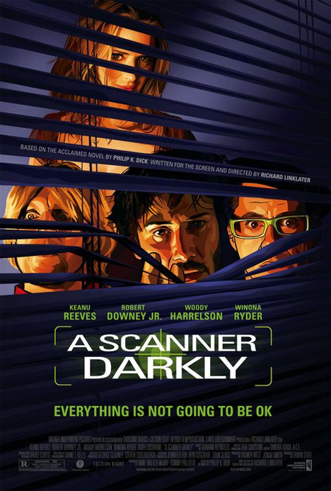 A Scanner Darkly Poster #1