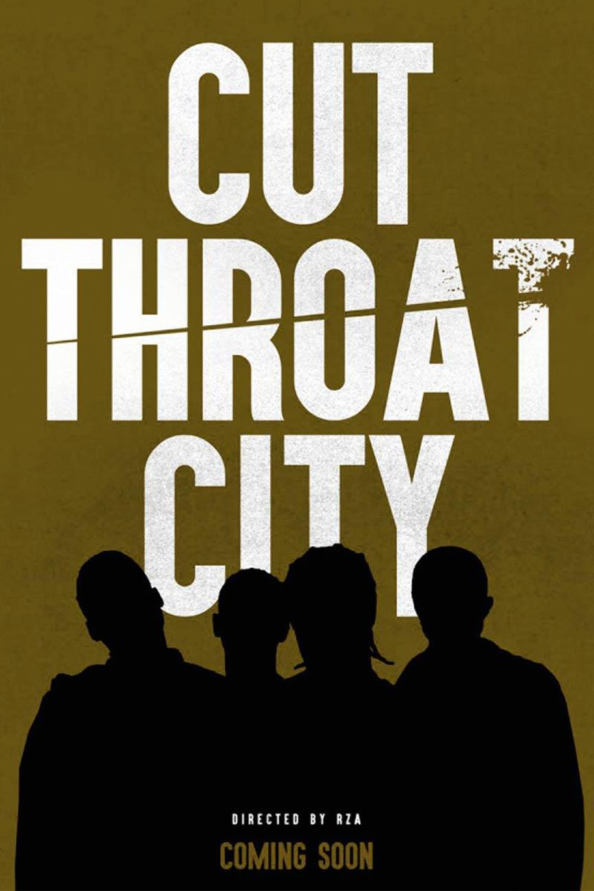 Cut Throat City Poster #1