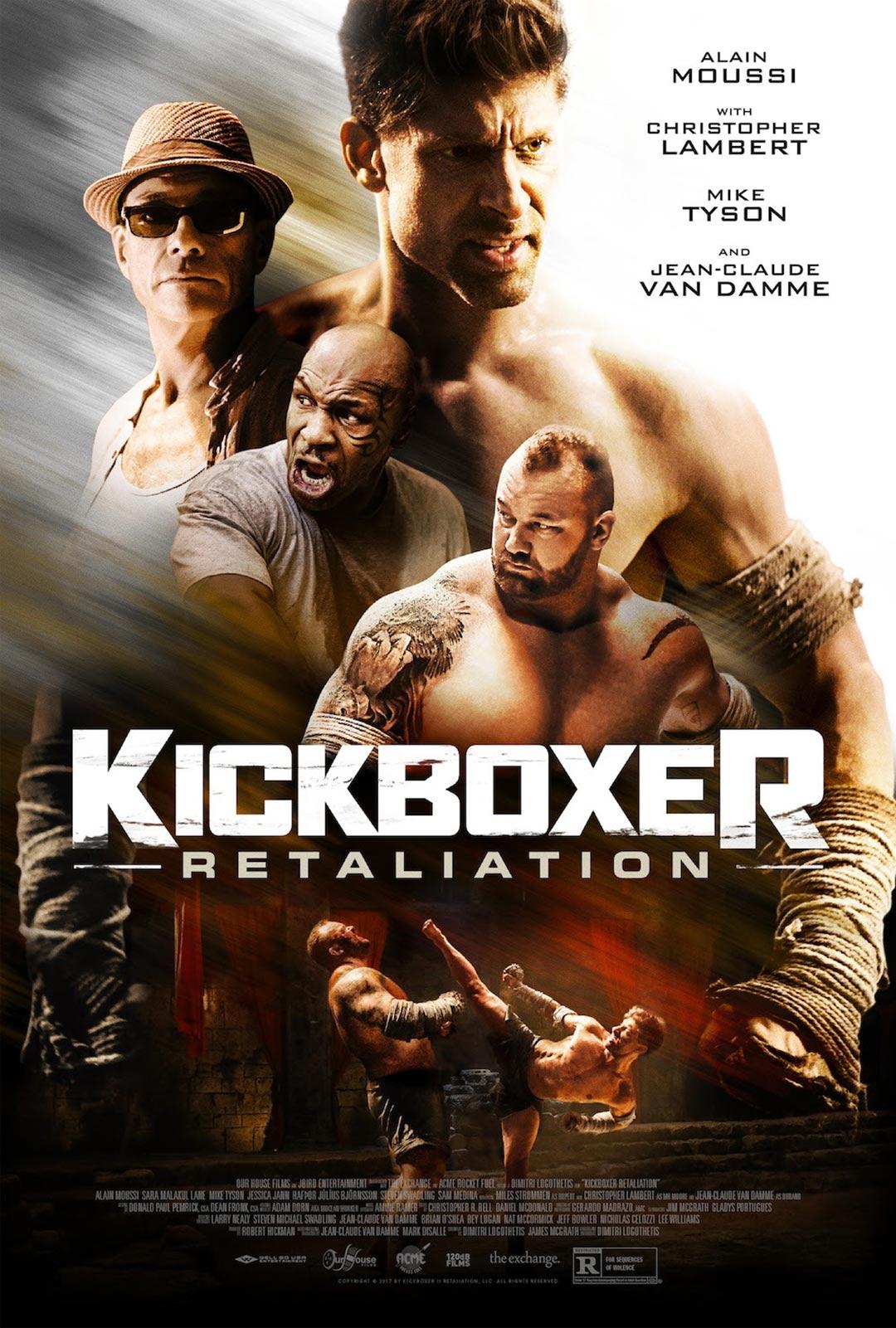 Kickboxer: Retaliation Poster #1