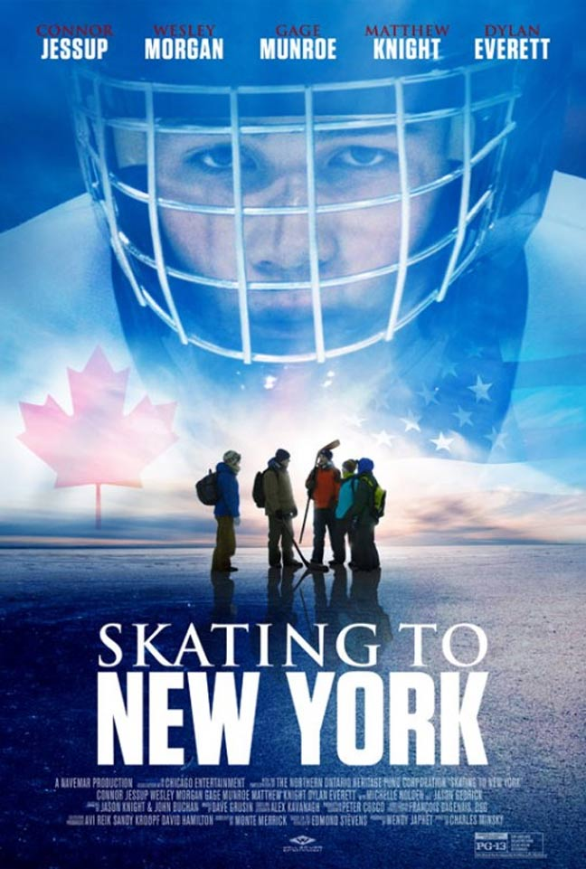 Skating to New York Poster #1