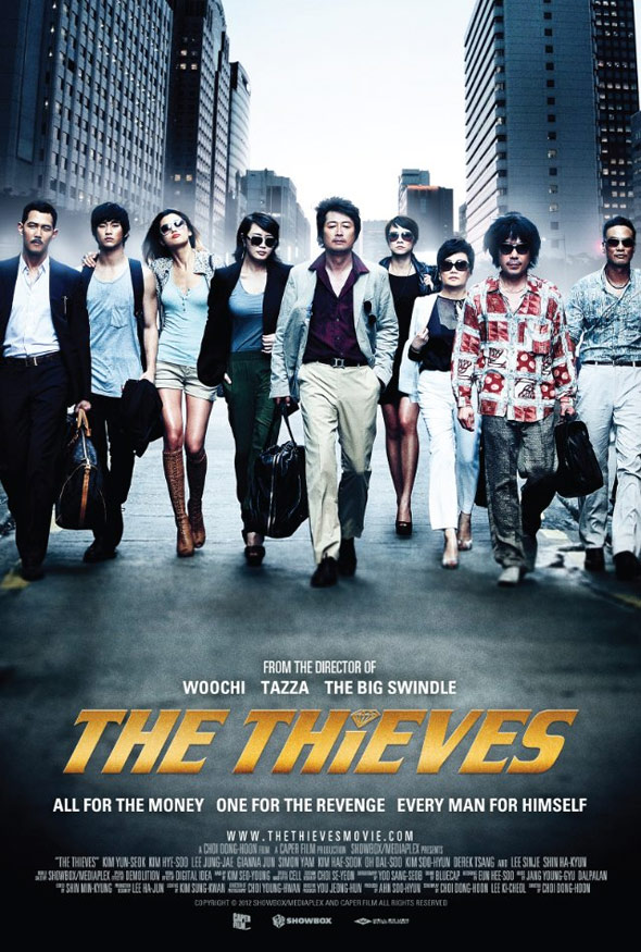 The Thieves (Do-Deuk-Deul) Poster #1