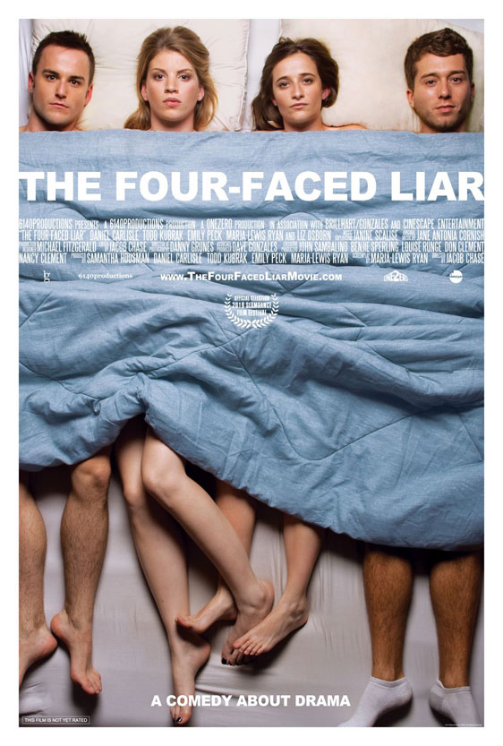 The Four-Faced Liar Poster #1