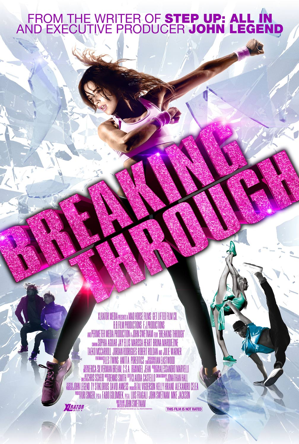Breaking Through Poster #1
