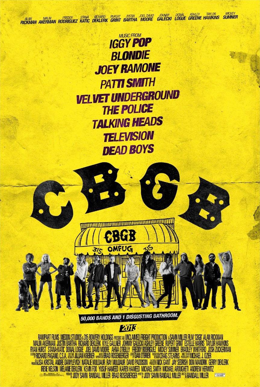 CBGB Poster #1