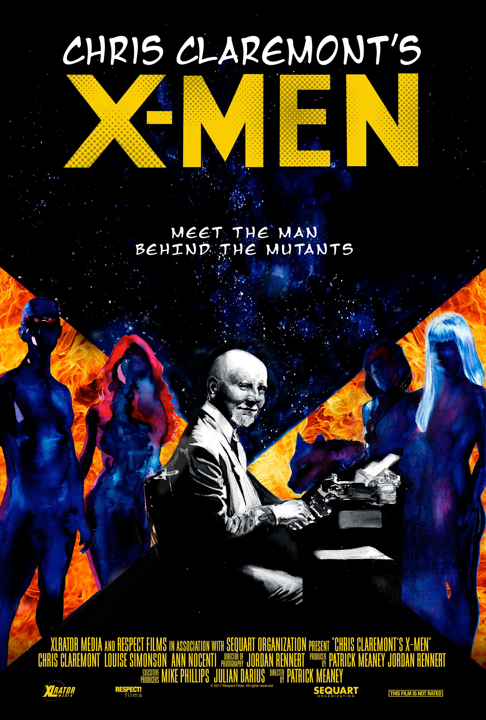 Chris Claremont's X-Men Poster #1