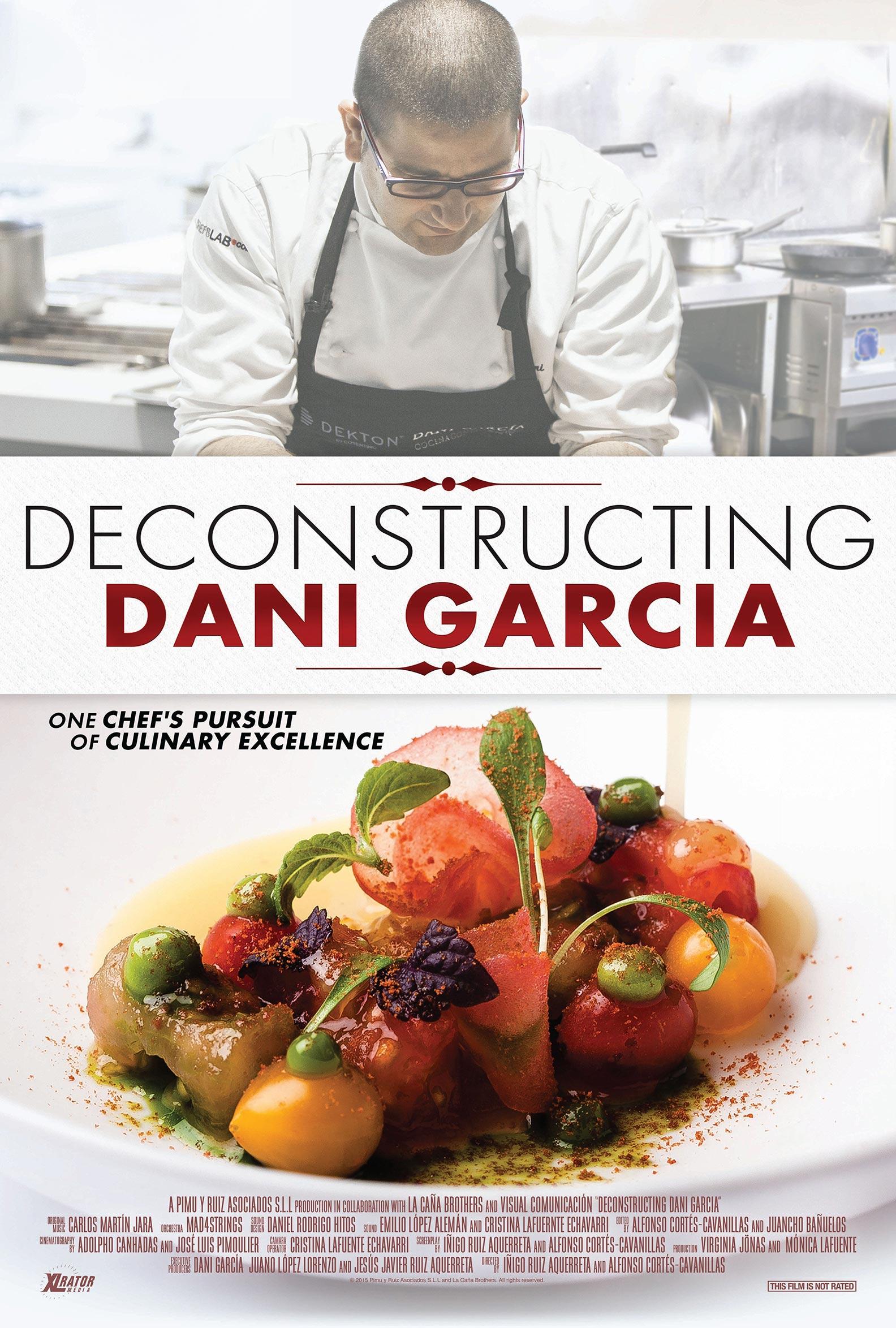 Deconstructing Dani García Poster #1