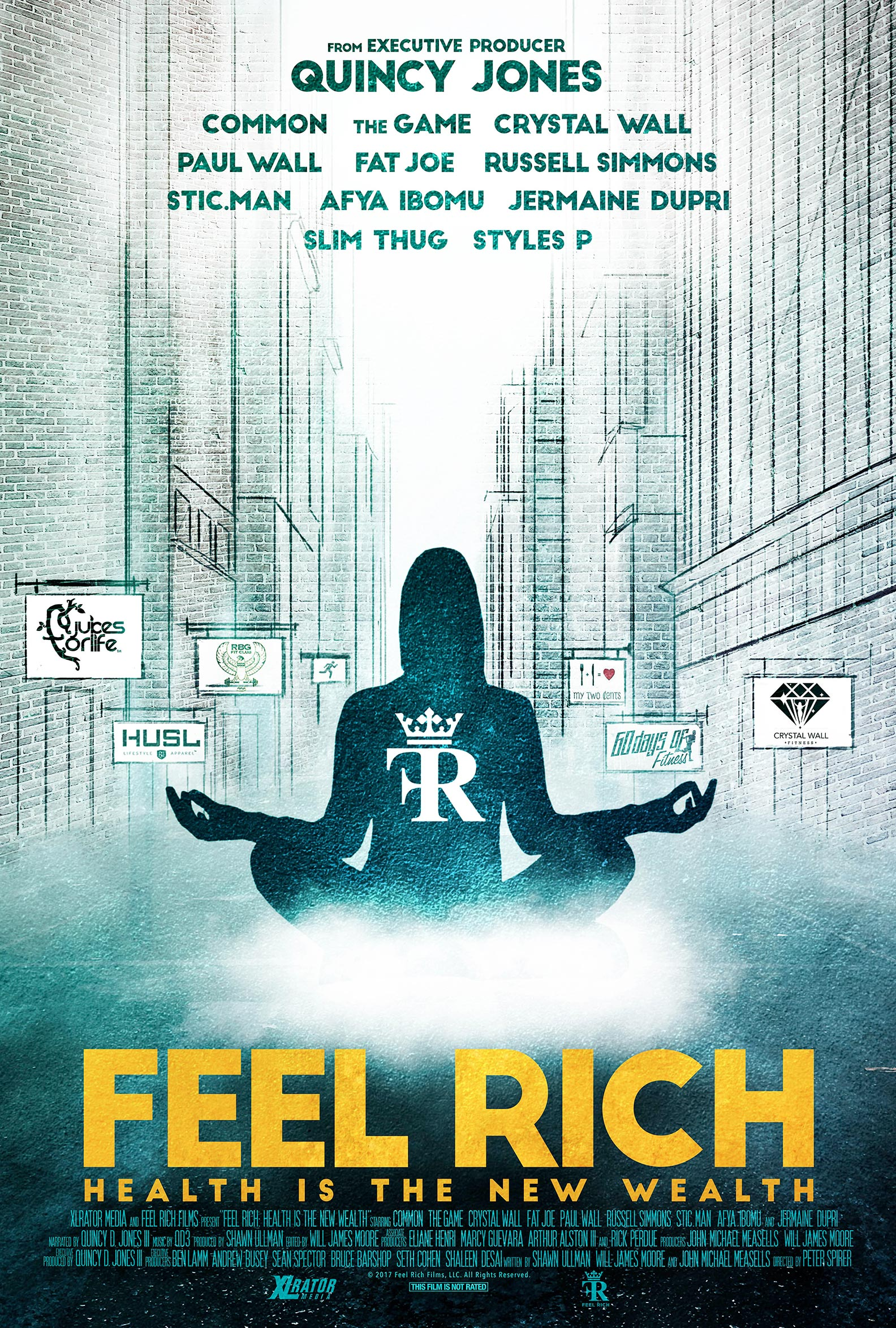 Feel Rich: Health Is the New Wealth Poster #1