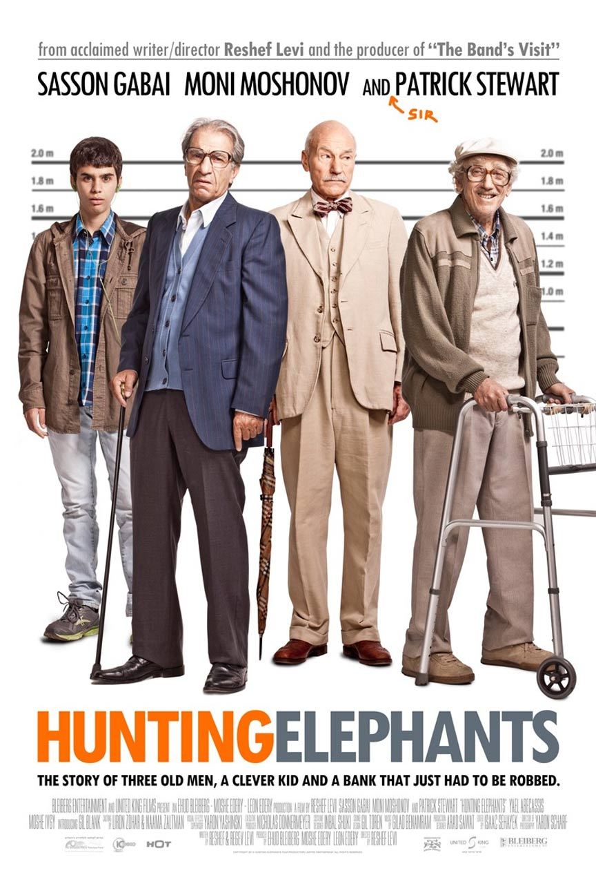 Hunting Elephants Poster #1