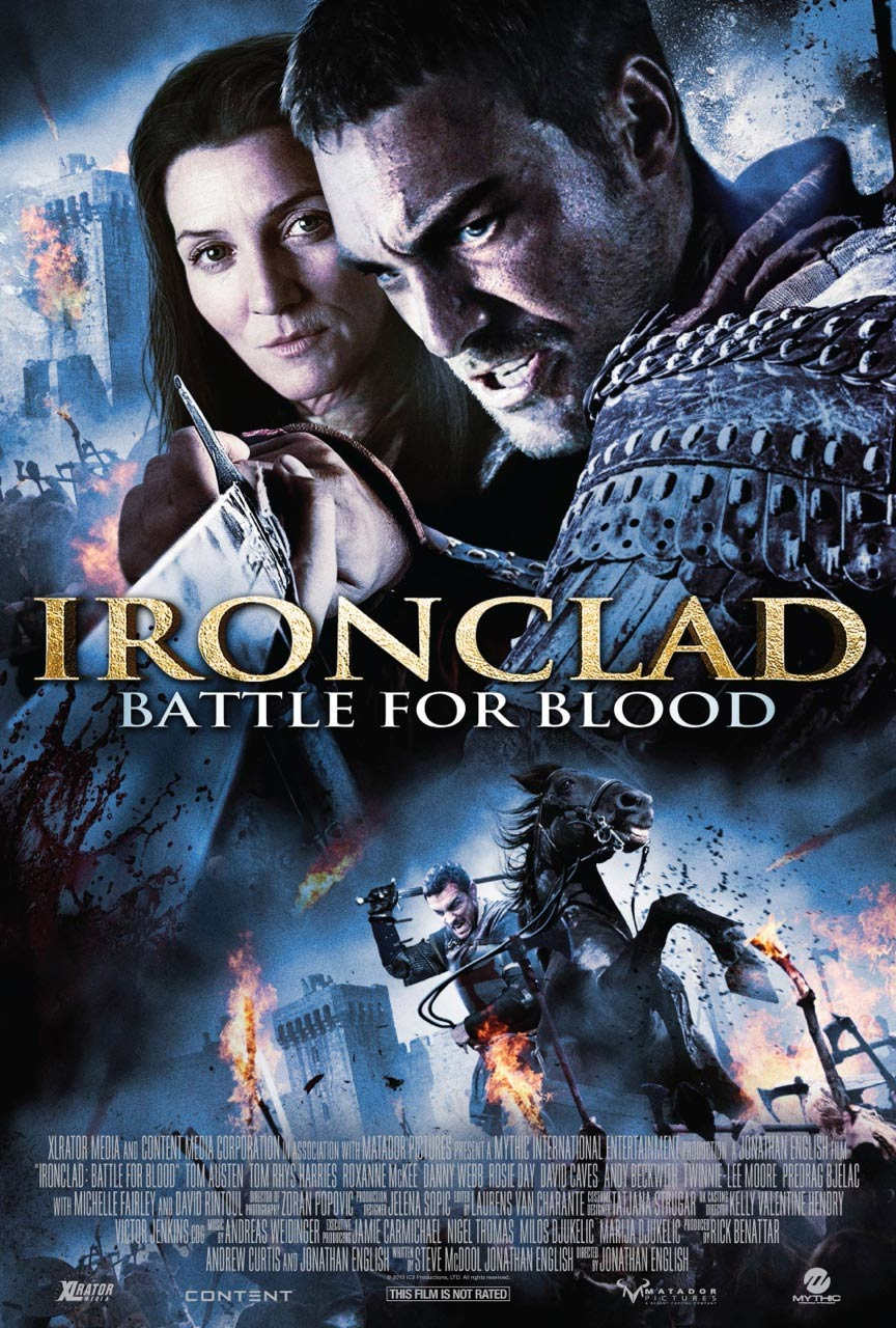 Ironclad: Battle for Blood Poster #1