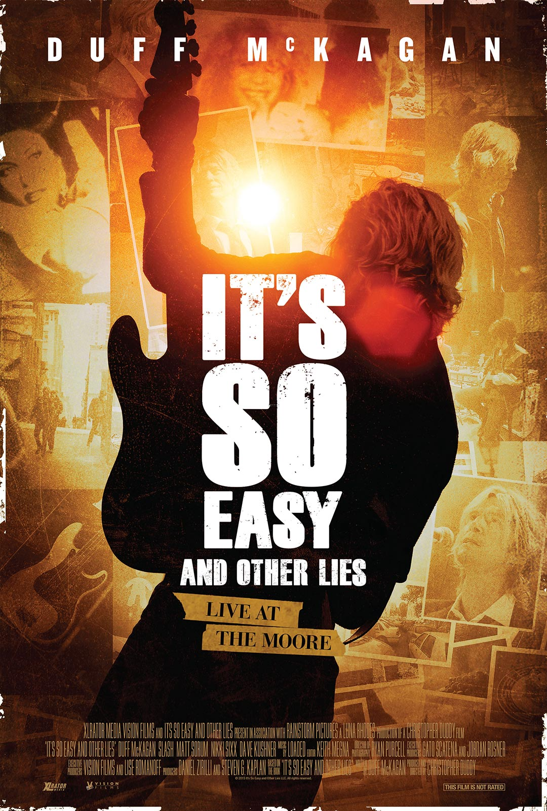 It's So Easy and Other Lies Poster #2