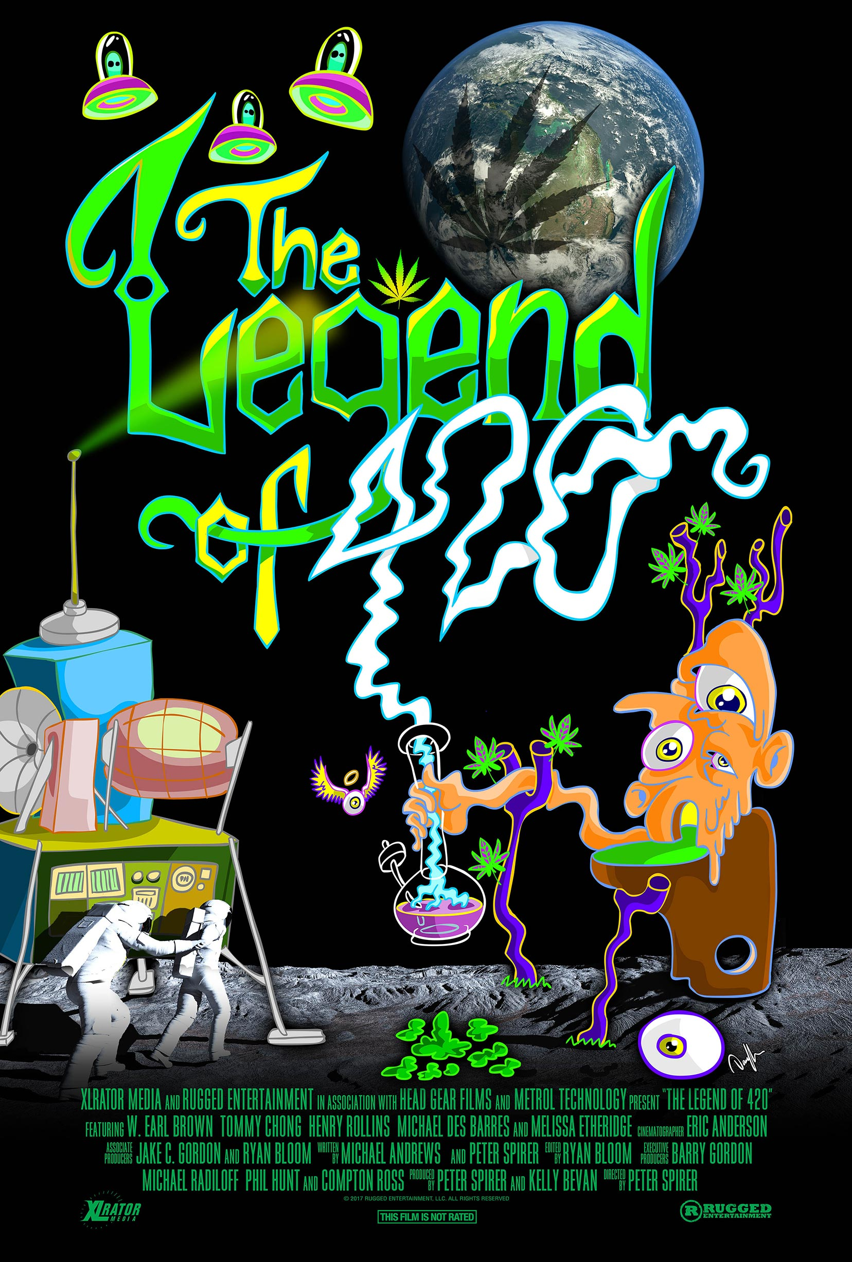 The Legend of 420 Poster #1
