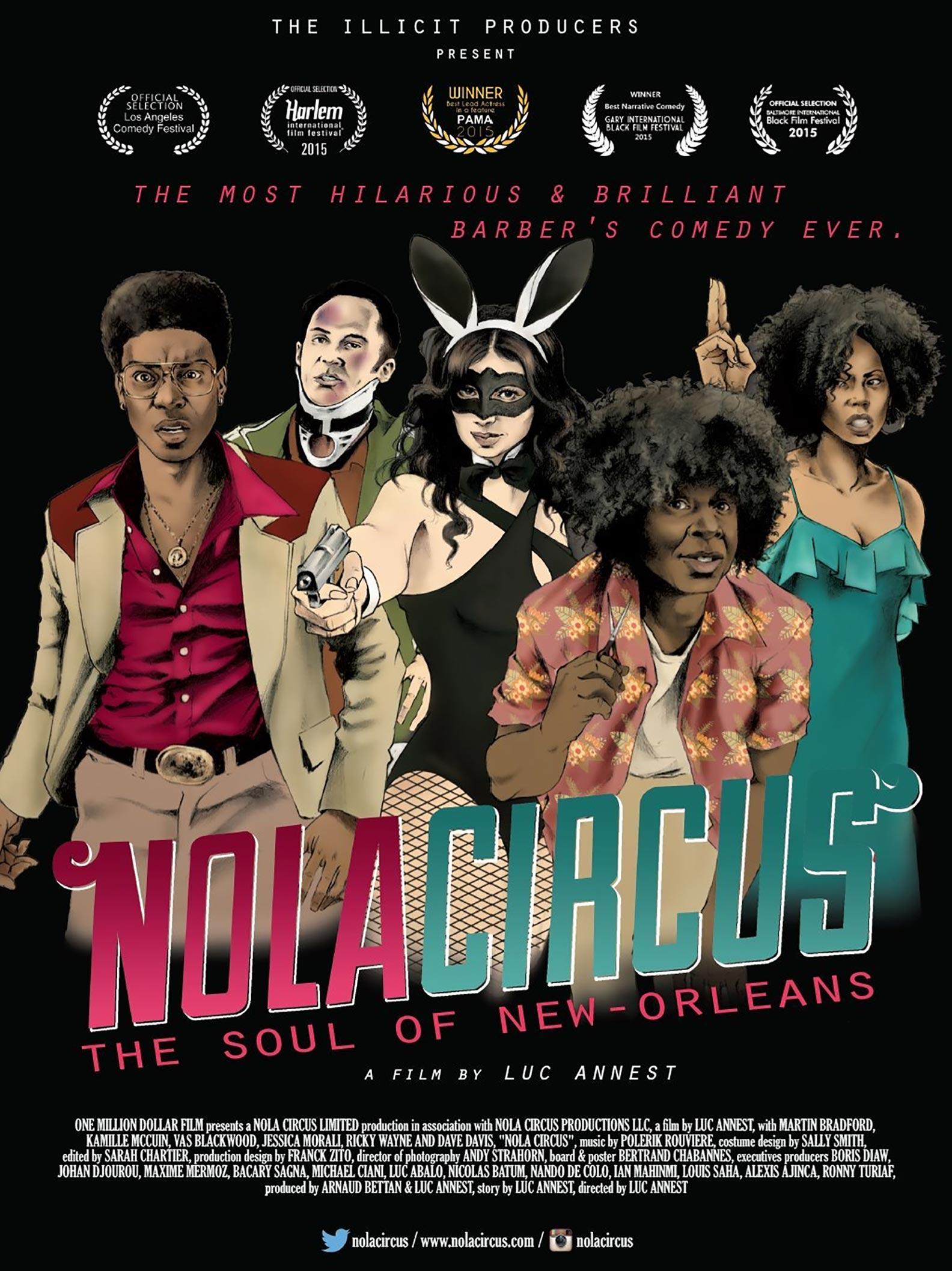 NOLA Circus Poster #1