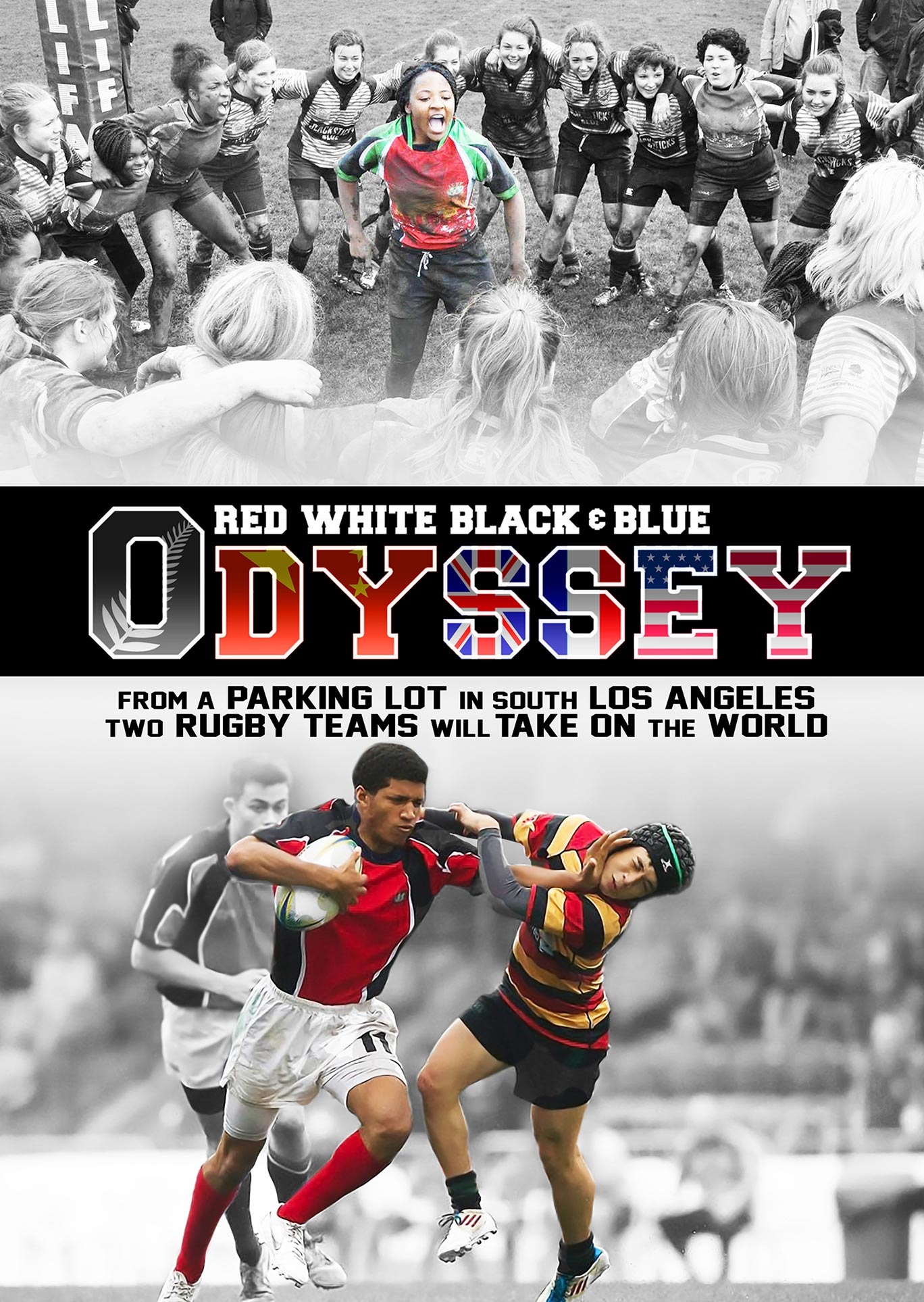 Red White Black & Blue Odyssey Poster #1
