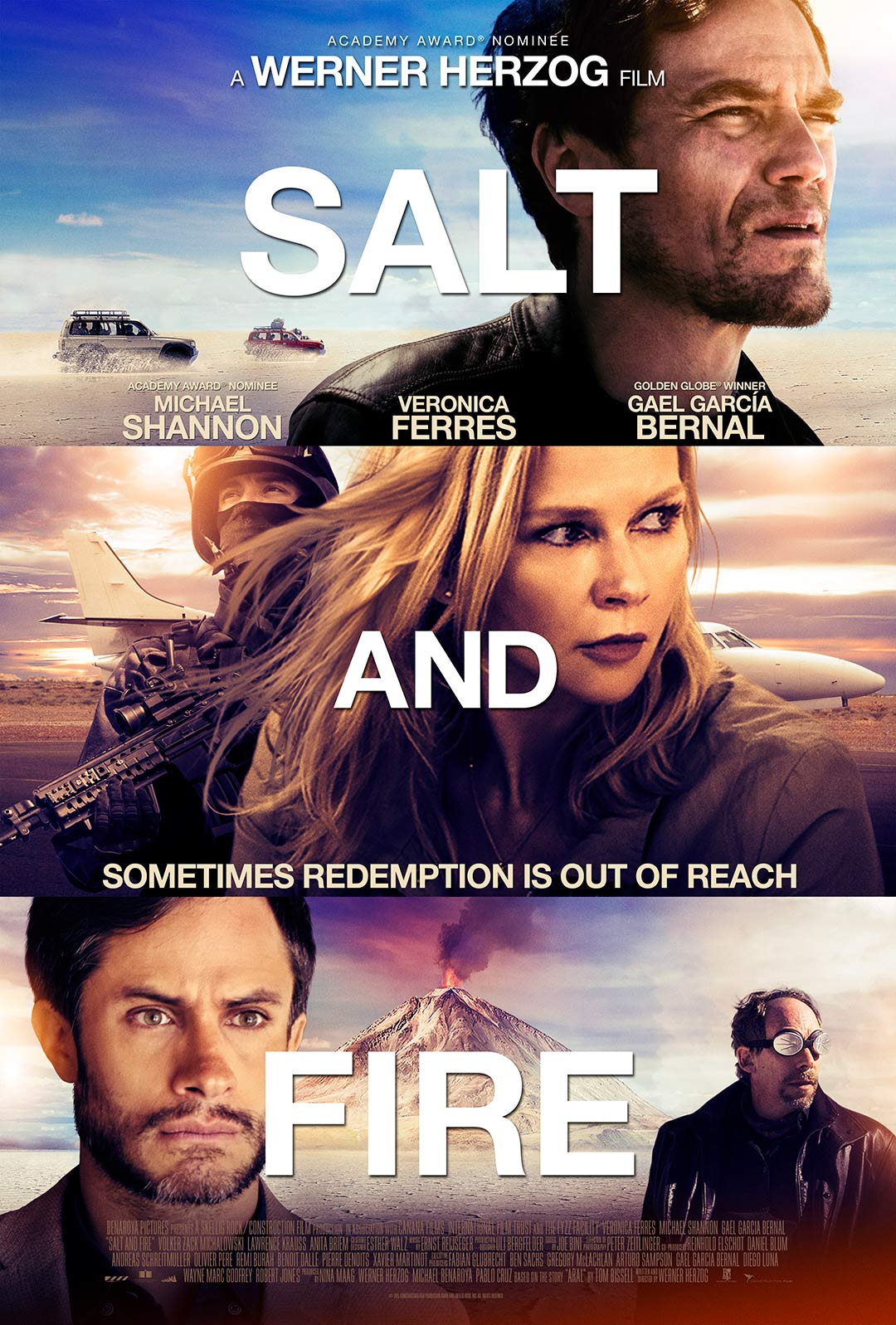 Salt and Fire Poster #1