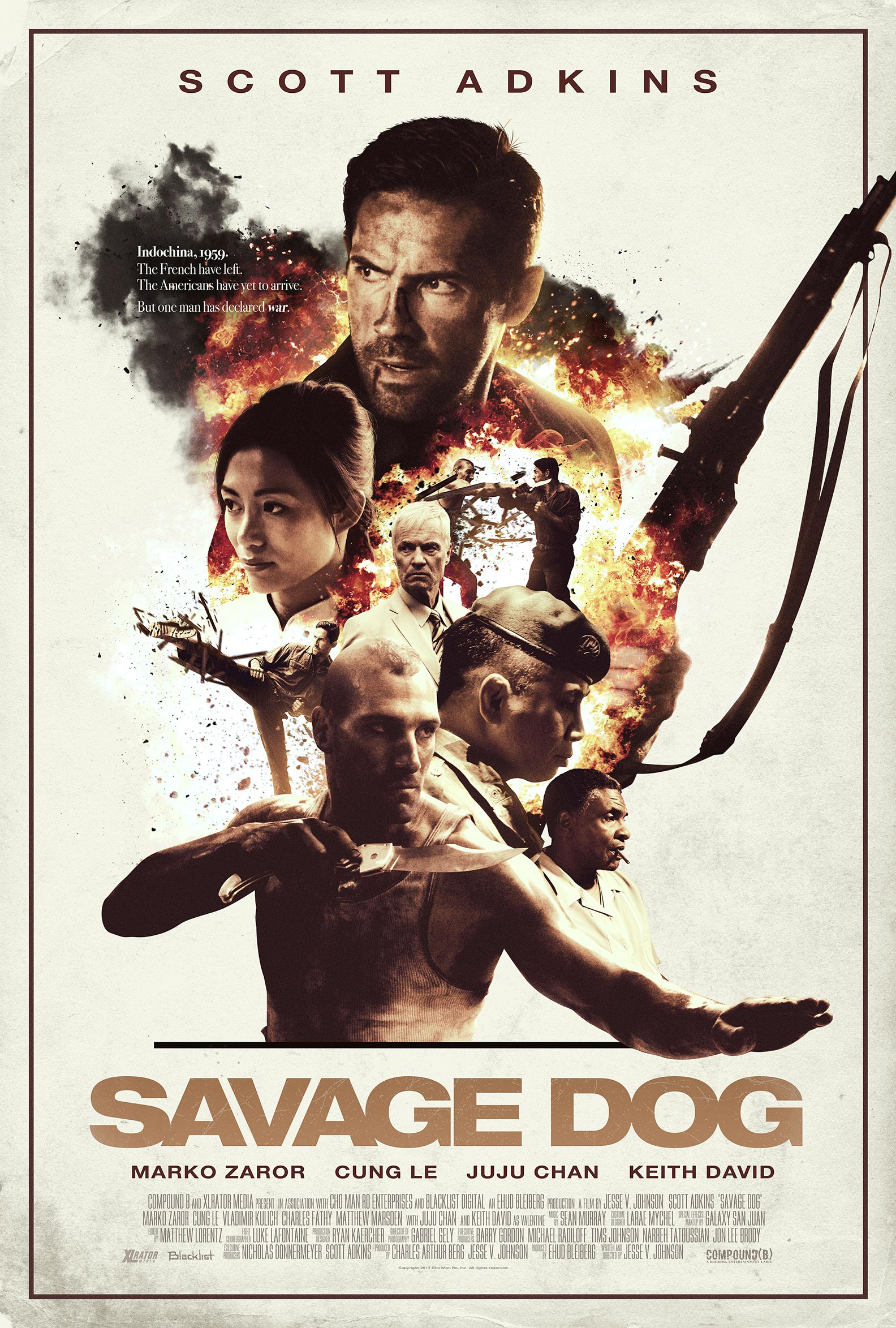 Savage Dog Poster #1