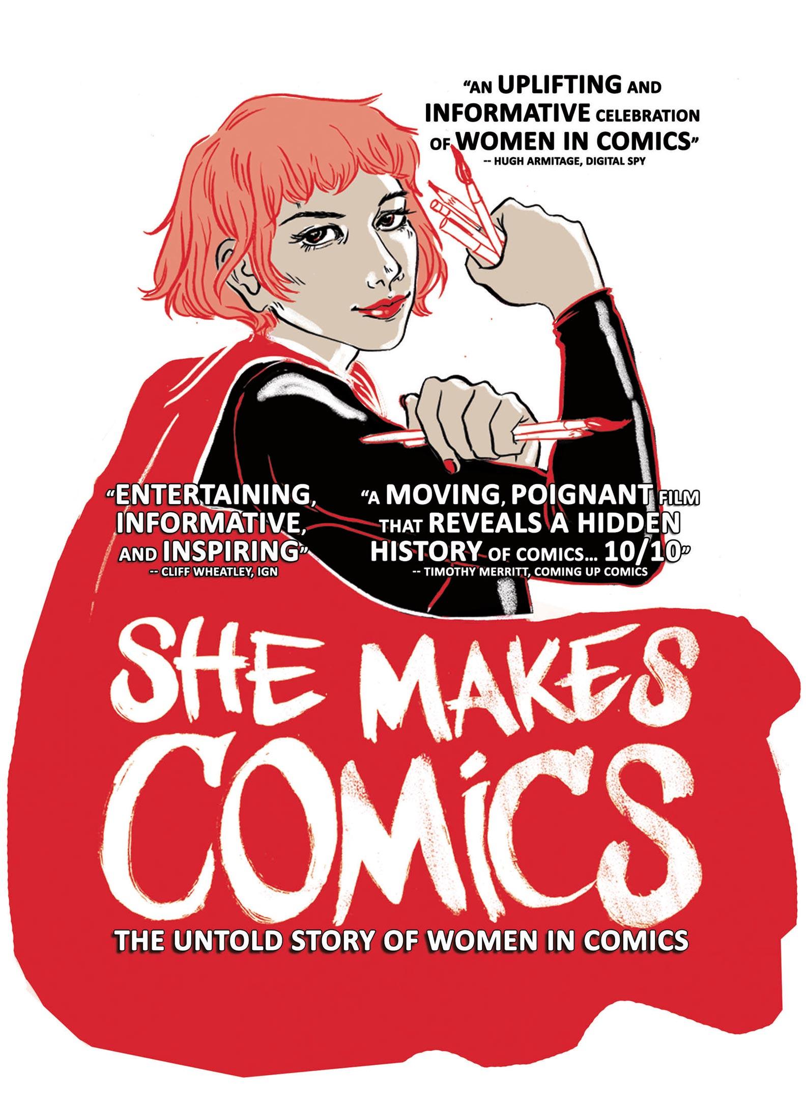 She Makes Comics Poster #1