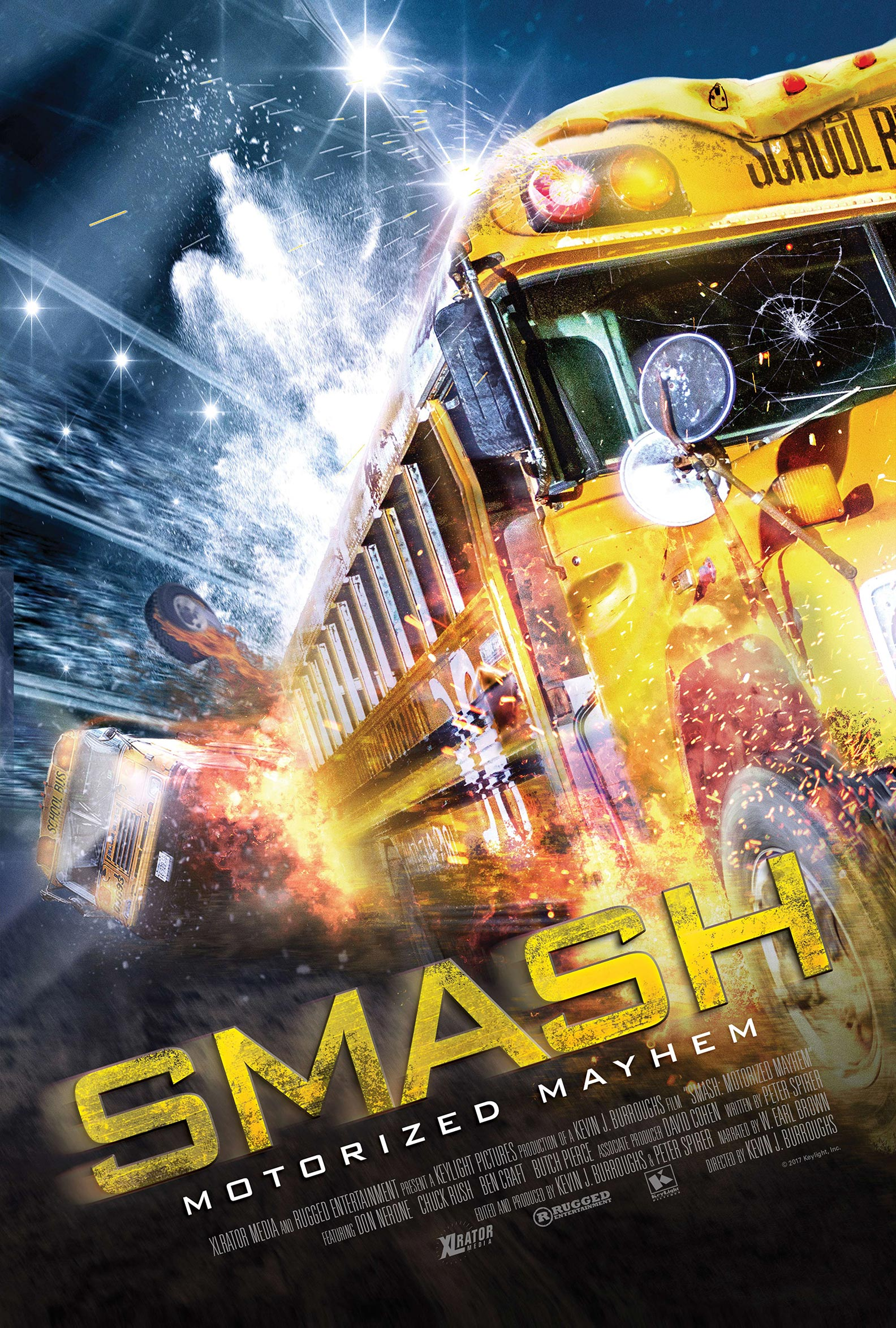 Smash: Motorized Mayhem Poster #1