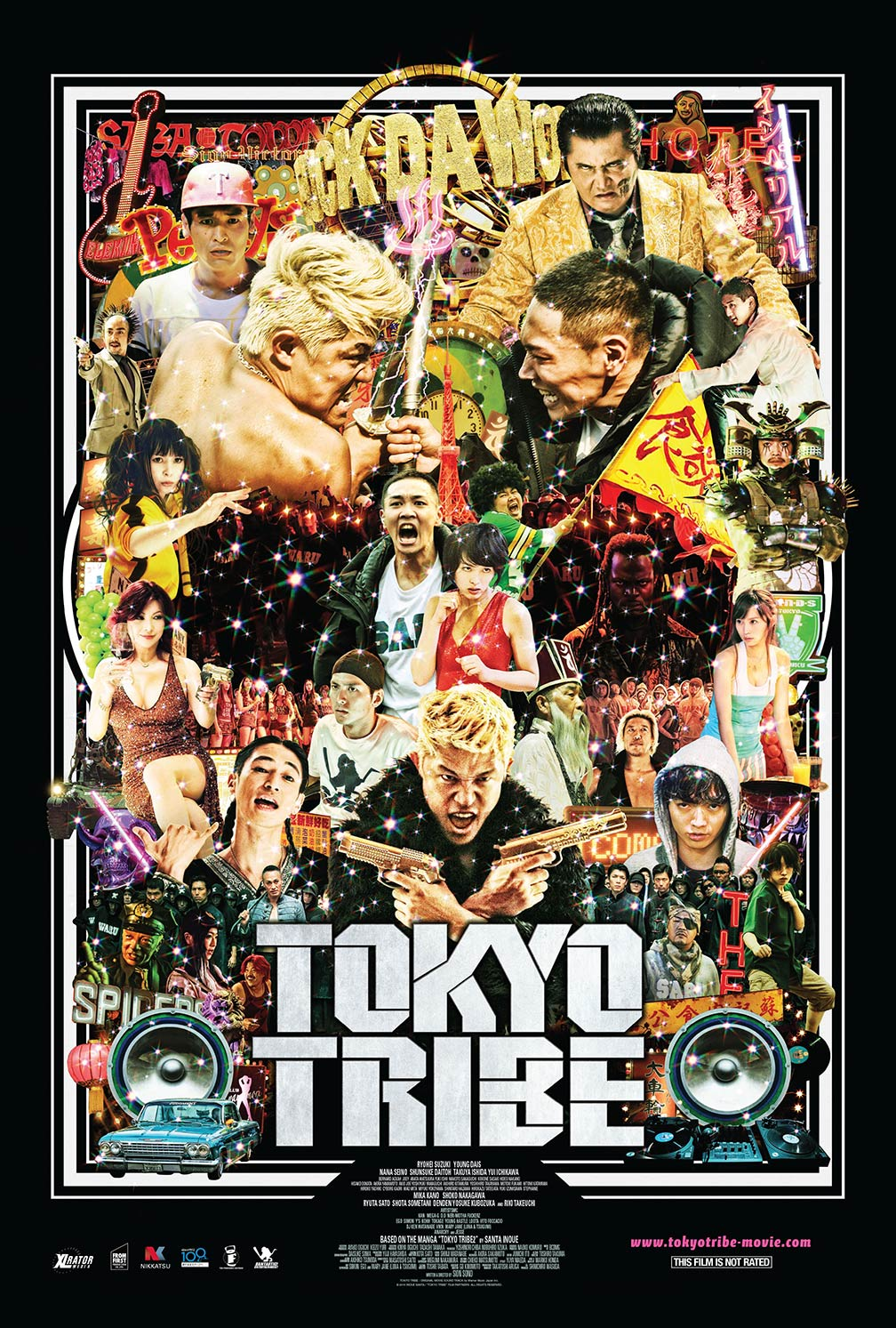 Tokyo Tribe Poster #1