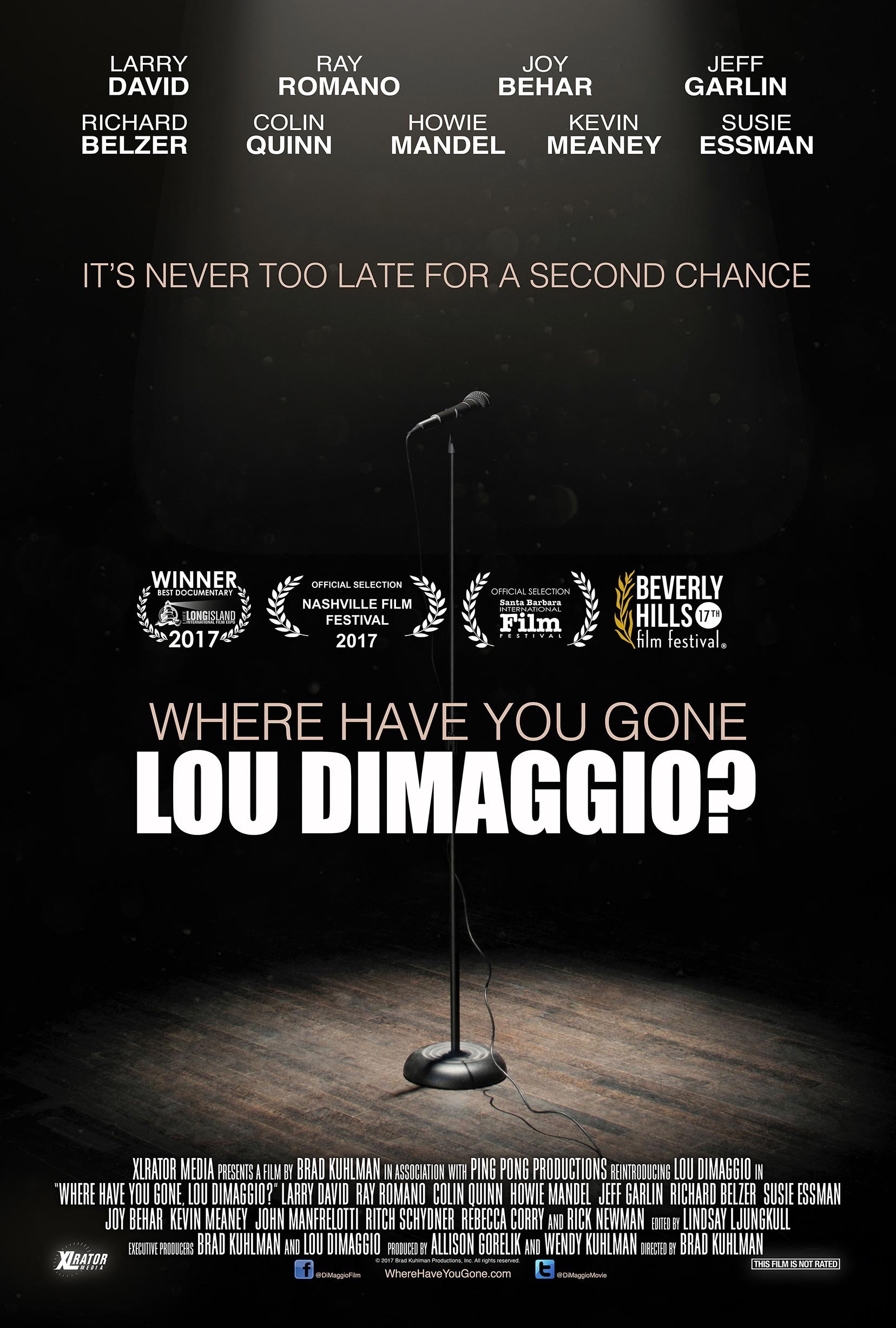 Where Have You Gone, Lou DiMaggio Poster #1