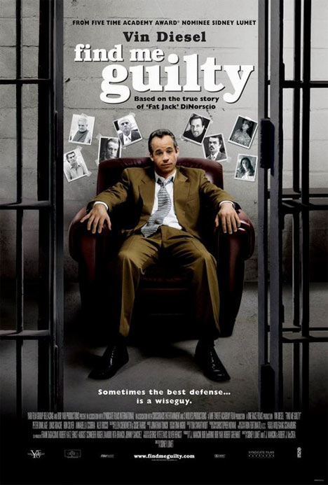 Find Me Guilty Poster #1