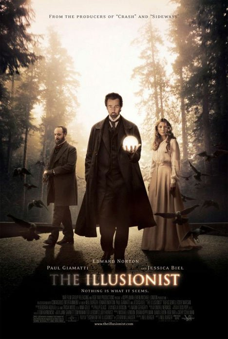 The Illusionist Poster #1