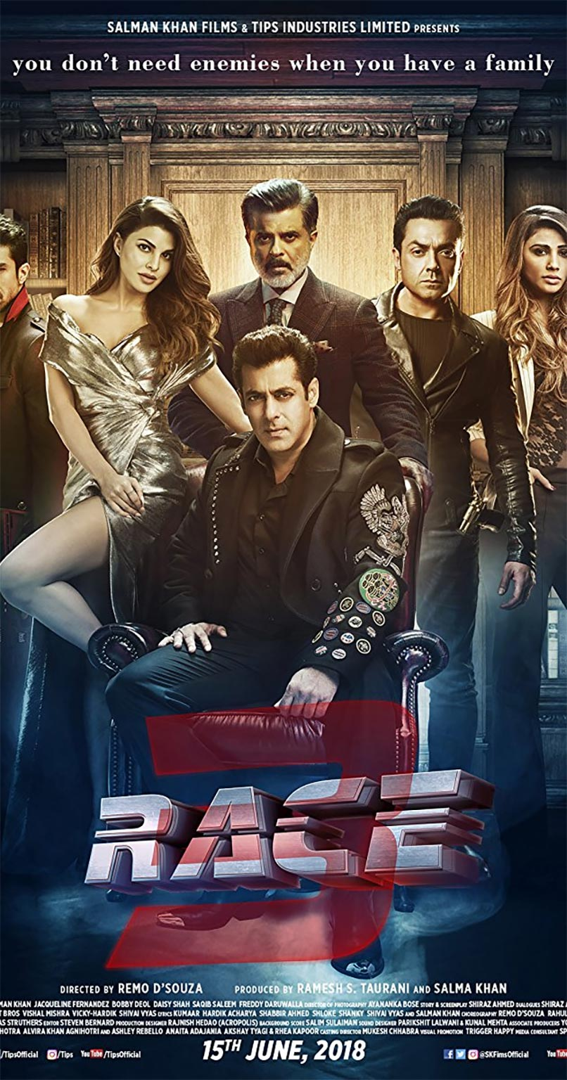 Race 3 Poster #1