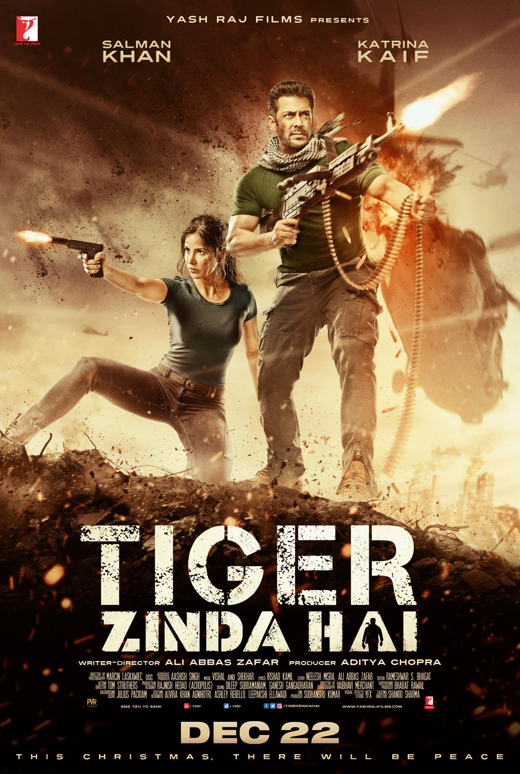 Tiger Zinda Hai Poster #1