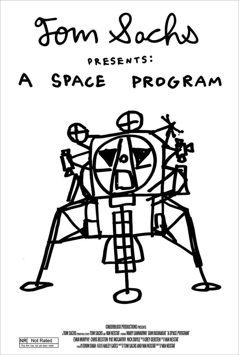 A Space Program Poster #1