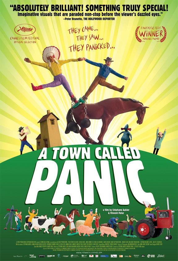 A Town Called Panic (Panique au village) Poster #2