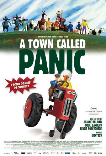 A Town Called Panic (Panique au village) Poster #1