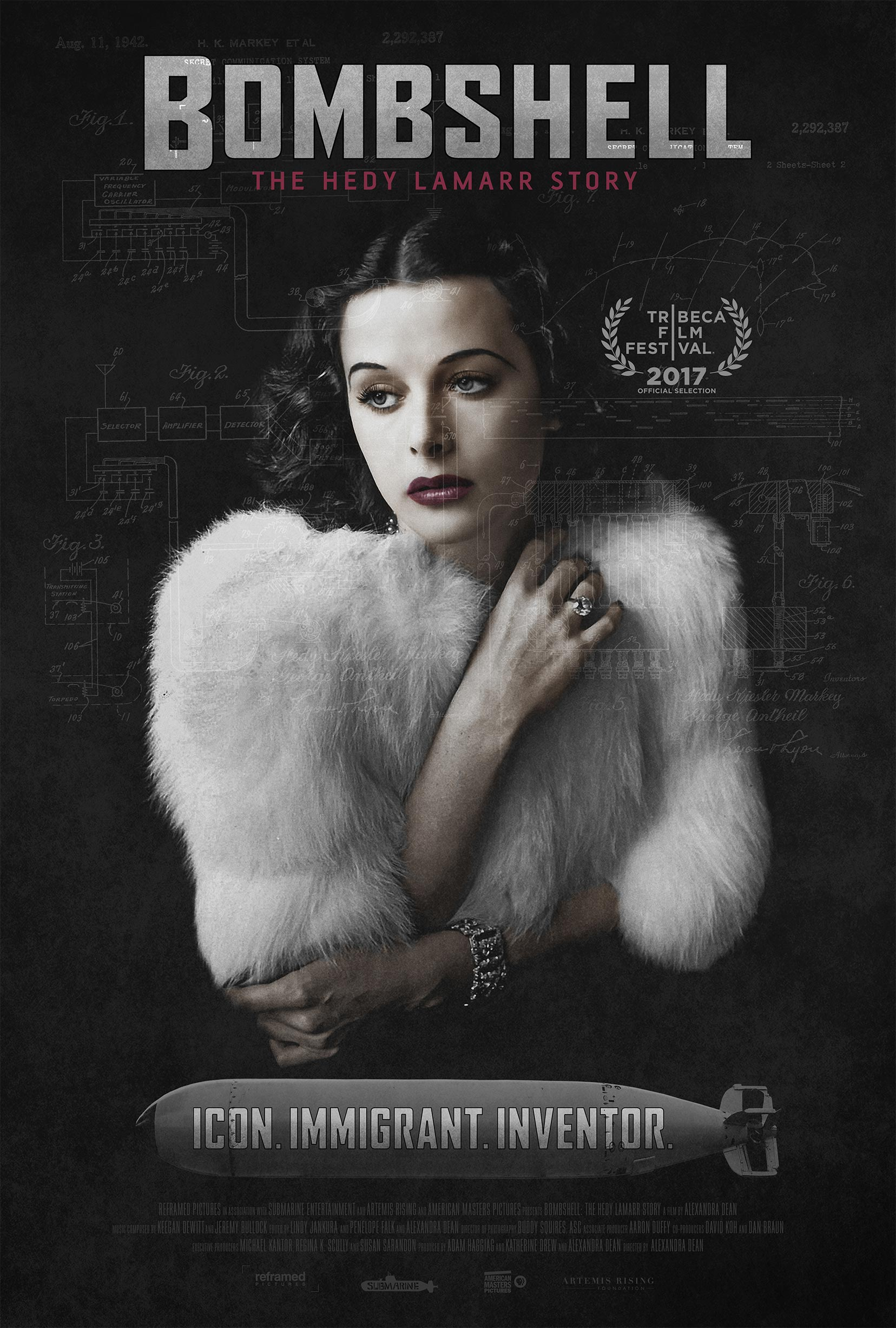 Bombshell: The Hedy Lamarr Story Poster #1