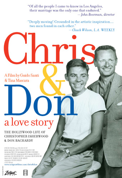 Chris & Don: A Love Story Poster #1