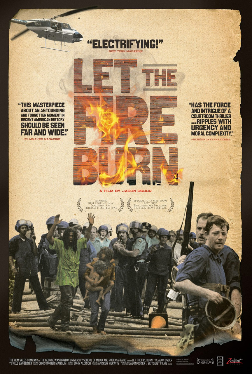 Let the Fire Burn Poster #1