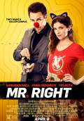 Mr. Right (2016) Poster #1 Thumbnail