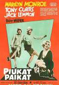 Some Like It Hot (1959) Poster #4 Thumbnail