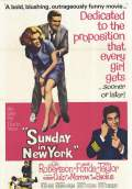 Sunday in New York (1963) Poster #2 Thumbnail