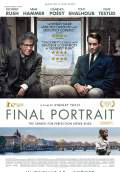Final Portrait (2017) Poster #1 Thumbnail