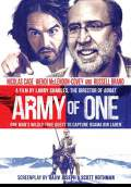 Army of One (2016) Poster #1 Thumbnail