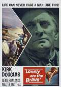 Lonely Are the Brave (1962) Poster #1 Thumbnail