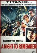 A Night to Remember (1958) Poster #1 Thumbnail