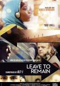 Leave to Remain (2013) Poster #1 Thumbnail