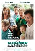 Alexander and the Terrible, Horrible, No Good, Very Bad Day (2014) Poster #1 Thumbnail