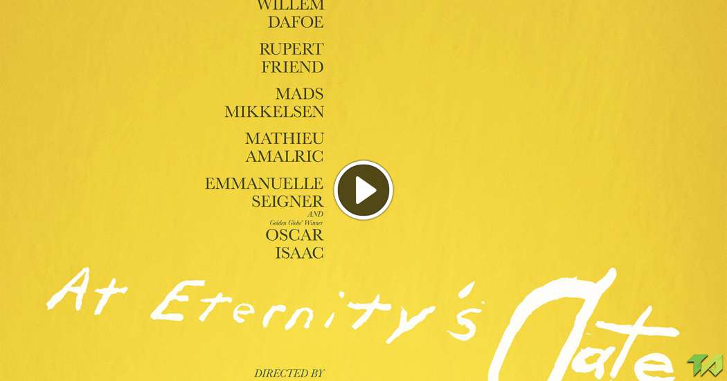 At Eternity's Gate Trailer (2018)