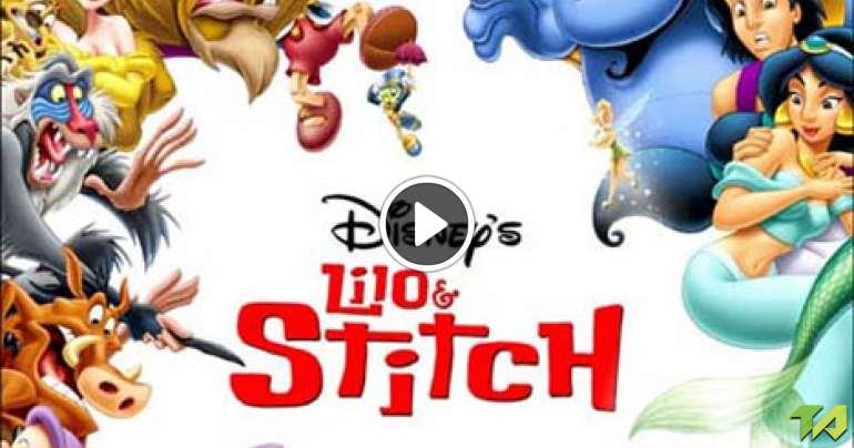 lilo  u0026 stitch alladin teaser  2002