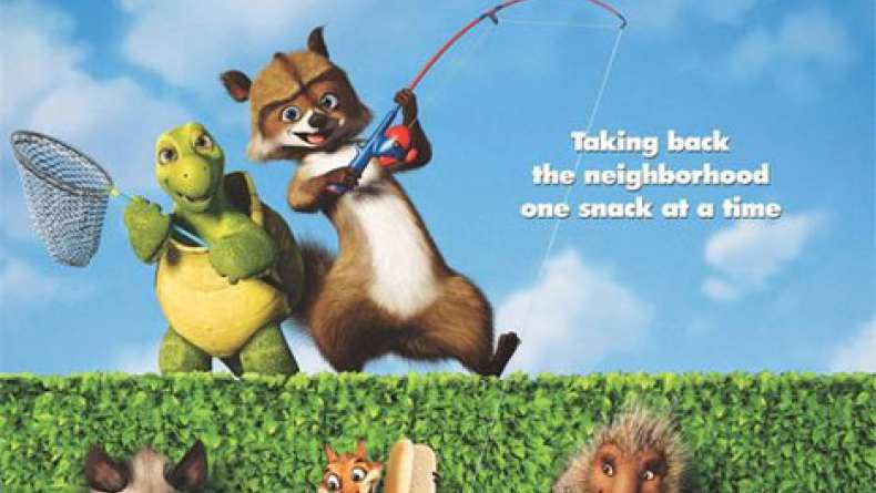 Over The Hedge 2006 Playing Dead