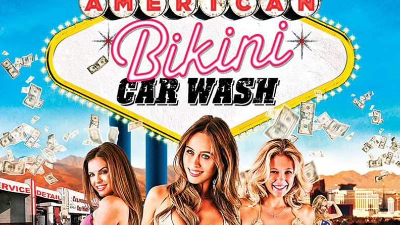 Bikini acr wash movie