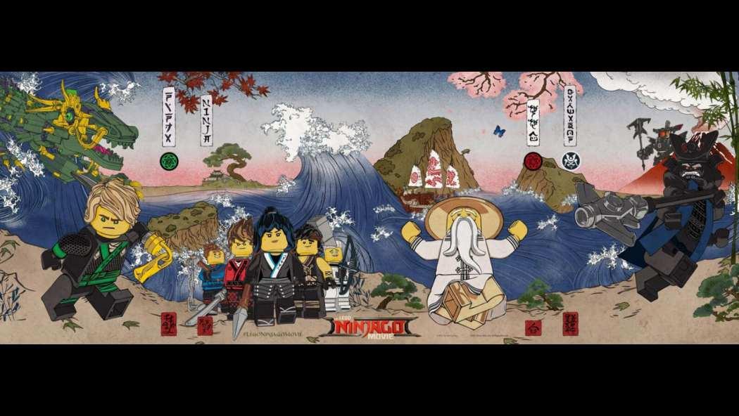 The Lego Ninjago Movie...